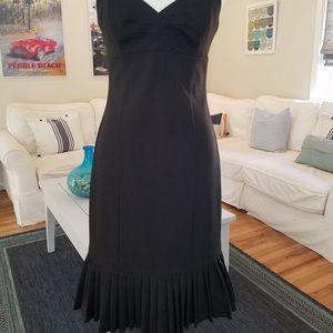 Express Sweetheart Neckline Little Black Dress